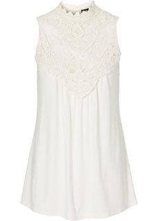 Трикотажная блузка (лиловая фиалка) Bonprix