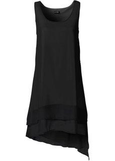 Шифоновое платье (горячий ярко-розовый) Bonprix