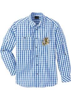 Рубашка в традиционном стиле Regular Fit (темно-красный/белый в клетку) Bonprix