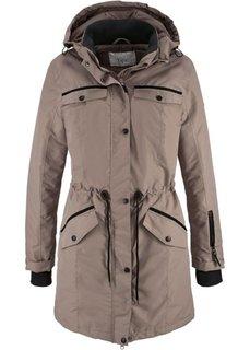 Удлиненная куртка для активного отдыха (нейтрально-серый) Bonprix