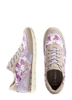 Кроссовки (фиолетовый в цветочек) Bonprix