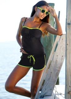 Пляжные шорты (черный) Bonprix