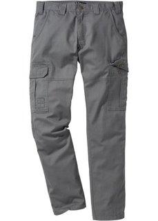 Брюки-карго Regular Fit Straight, низкий + высокий рост (U + S) (темно-синий) Bonprix