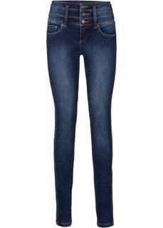 Стройнящие джинсы-стретч SLIM, высокий рост (L) (нежно-голубой) Bonprix