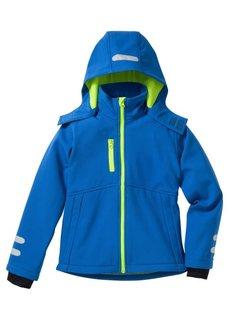 Функциональная куртка-софтшелл со светоотражателями, Размеры 128/134-164/170 (нежная фуксия/ярко-розовый нео) Bonprix