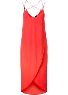 Платье с бретельками (черный) Bonprix