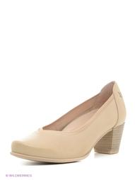 Бежевые Туфли Caprice