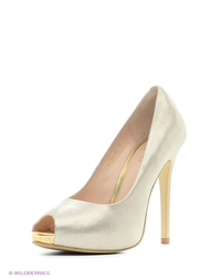 Золотистые Туфли Moda Donna