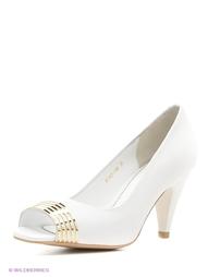 Белые Туфли Moda Donna