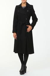 Пальто с поясом Ann Demeulemeester