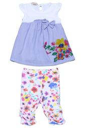 Комплект: платье, леггинсы Brums