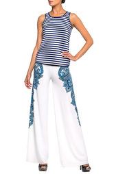 Комплект пляжный: брюки, топ Lora Grig