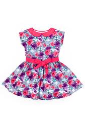 Платье с поясом Апрель
