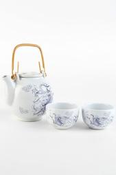 Чайник, 1 шт., чашка, 2 шт. Saguro
