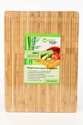 Доска разделочная 34х25 Green Top