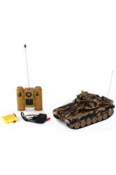 Танк р/у 1:28 Т-90 (Россия) Пламенный Мотор