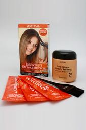 Кератиновое выпрямление волос Kativa