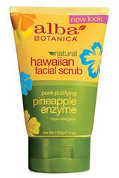Гавайский скраб для лица Alba Botanica