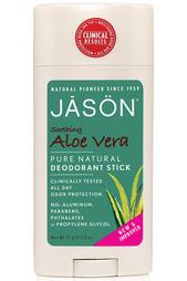 Твердый дезодорант «Алоэ Вера» Jason