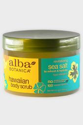 Скраб для тела с морской солью Alba Botanica