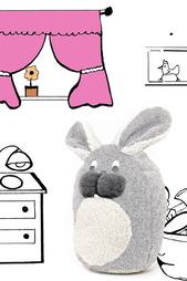 Игрушка-подушка Кролик Alwero