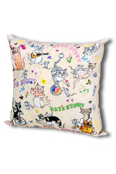 Подушка Веселые кошки Gift'n'home