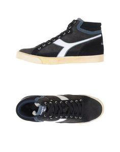 Высокие кеды и кроссовки Diadora