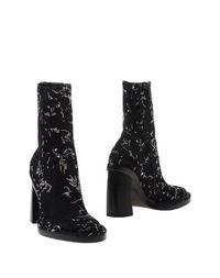 Черные Полусапоги и высокие ботинки ANN Demeulemeester