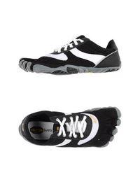 Низкие кеды и кроссовки Vibram