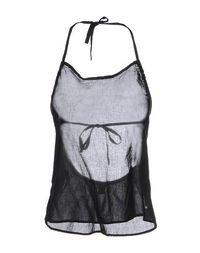 Топ без рукавов Emporio Armani Swimwear