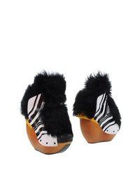 Белые Полусапоги и высокие ботинки Y-3