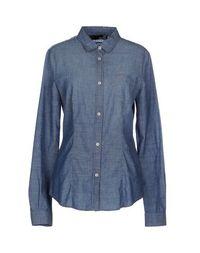 Джинсовая рубашка Love Moschino