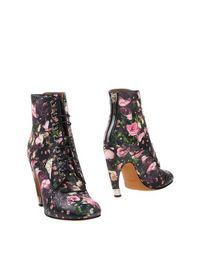 Черные Полусапоги и высокие ботинки Givenchy