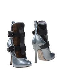 Серые Полусапоги и высокие ботинки Vivienne Westwood