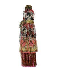 Длинное платье D&;G