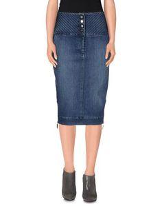 Джинсовая юбка Elisabetta Franchi Jeans