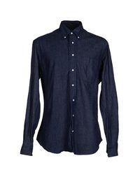Джинсовая рубашка Gitman Bros.