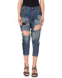 Джинсовые брюки-капри Oneteaspoon