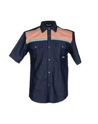 Джинсовая рубашка Iron AND Resin