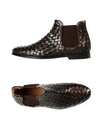 Коричневые Полусапоги и высокие ботинки Leonardo Principi