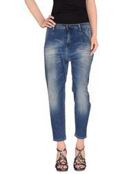 Джинсовые брюки-капри MET &; Friends