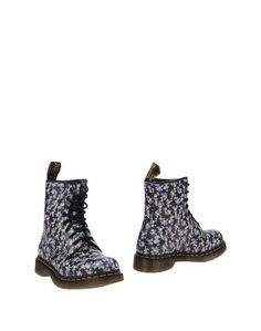 Черные Полусапоги и высокие ботинки DR. Martens