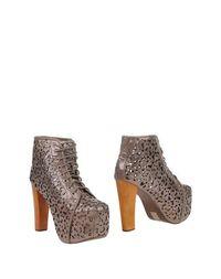Золотистые Полусапоги и высокие ботинки Jeffrey Campbell