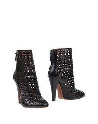 Черные Полусапоги и высокие ботинки AlaÏa