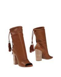 Коричневые Полусапоги и высокие ботинки Geox Designed BY Patrick COX
