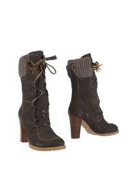 Коричневые Полусапоги и высокие ботинки SEE BY ChloÉ