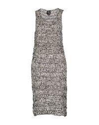 Платье до колена MCQ Alexander Mcqueen