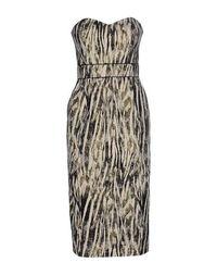 Платье до колена Badgley Mischka