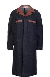 Пальто джинсовое с поясом Marni