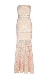 Вечернее платье-бюстье Tadashi Shoji